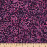 "Timeless Treasures Batik 108"" Wide Back Jazz Orchid"