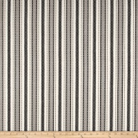 Laura & Kiran Outwest Stripes Zagreb Basketweave Black