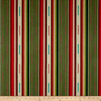 Laura & Kiran Mojave Southwest Stripe Green Multi