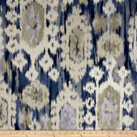 Robert Allen @ Home Ikat Reflect Indigo