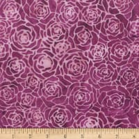 Anthology Batik Roses Purple Haze