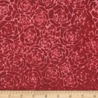 Anthology Batik Roses Cherry Pie