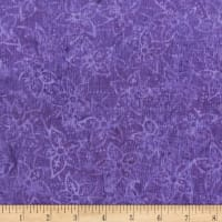 Anthology Batik Star flowers Grape