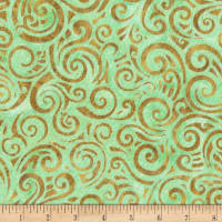 Anthology Batiks Swirl Mint
