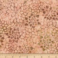 Anthology Batiks Flower Stencil Blush