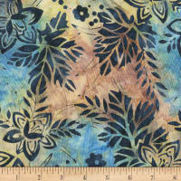Anthology Batiks Tri Floral Marble