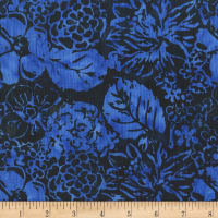 Anthology Batiks Garden Royal Blue