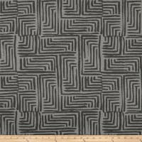 Bella Dura Exclusive Indoor/Outdoor Salt Creek Chenille Jacquard Stone