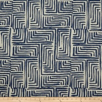 Bella Dura Exclusive Indoor/Outdoor Salt Creek Chenille Jacquard Navy