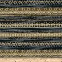 Springs Creative Southwestern Chenille Stripe Black & Tan