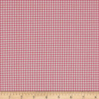 Andover/Makower Fruity Friends Gingham Pink