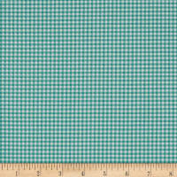 Andover/Makower Fruity Friends Gingham Teal
