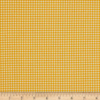 Andover/Makower Fruity Friends Gingham Yellow