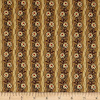 Andover Maling Road Flower Wave Brown