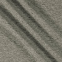 Runway Threads 100% Cotton French Terry Knit Gray