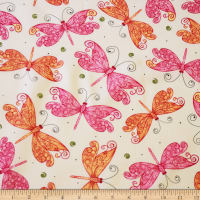 Ink & Arrow Aziza Butterflies Cream