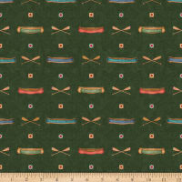 QT Fabrics Dan Morris Backcountry Canoes Forest