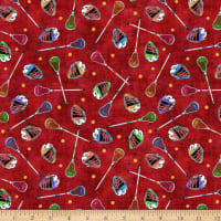 QT Fabrics Dan Morris Stick With It Lacrosse Gear Dark Red