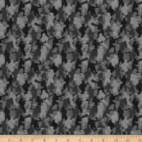QT Fabrics Dan Morris Stick With It Lacrosse Camo Black
