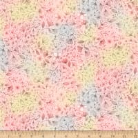 QT Fabrics Sweet Thoughts Ombre Floral Pink