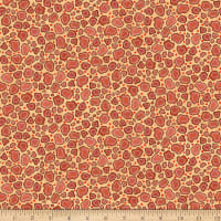 QT Fabrics Wild Things Giraffe Print Warm Tan