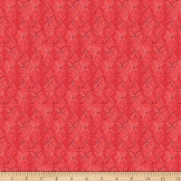QT Fabrics Wild Things Geometric Flower Red