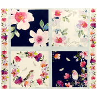 "Love Always Floral 36"" Panel Multi"