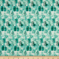 Love Always Block Tonal Teal