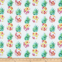 Tropicale Pineapples White