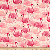Tropicale Packed Flamingo White