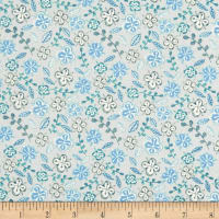Farm Fresh Floral Blue