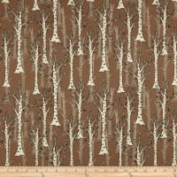 Woodland Tribe Trees Brown
