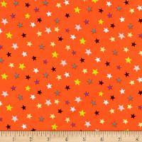 Trick Or Treat Stars Orange