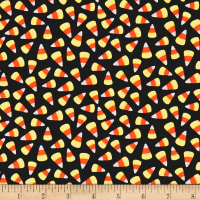 Trick Or Treat Candy Corn Black