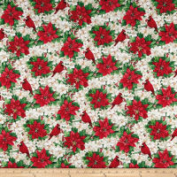Christmas Garden Poinsettia Multi