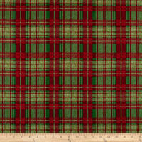 Christmas Garden Plaid Ulti
