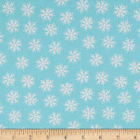 Merry Forest Snowflake Blue