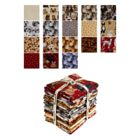 My Pet Family Fat Quarters 18 Pcs Multi