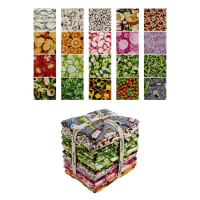 Market Medley Fat Quarters 20 Pcs Multi
