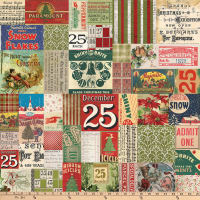 Tim Holtz Merriment 25th Multi