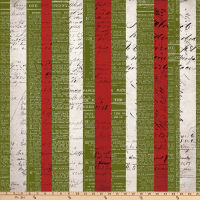 Tim Holtz Merriment Xmas Stripe Multi