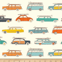 Birch Fabrics Surf Rally Multi Knit