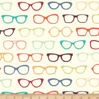Birch Organic Fabrics Summer '62 Knit Glasses Multi