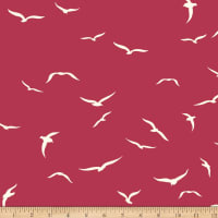Birch Organic Fabrics Summer '62 Knit Sea Flight Plum