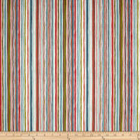 Andover/Makower UK Rex Wavy Stripe Multi
