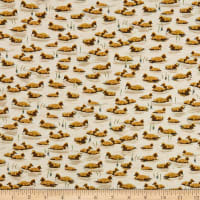 QT Fabrics Flying Geese Baby Geese Cream