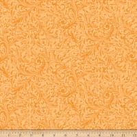 QT Fabrics Lilian Textured Scroll Amber