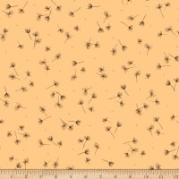 QT Fabrics Whisper Thistle Toss Light Gold