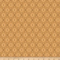 QT Fabrics Whisper Geometric Medium Gold
