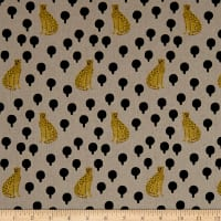 Andover Around Town Cheetahs Linen Natural